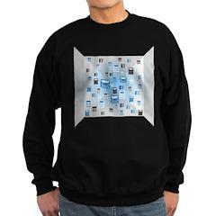 Random Logo Sweatshirt (dark)