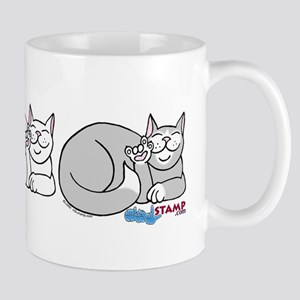 3 ASL Kitties Mug