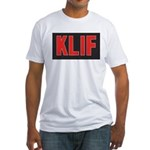 KLIF Dallas 1966 - Fitted T-Shirt