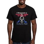Woman's Choice pro-gun Men's Fitted T-Shirt (dark)
