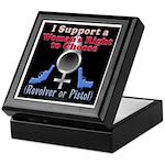 Woman's Choice pro-gun Keepsake Box