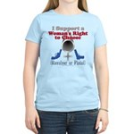 Woman's Choice pro-gun Women's Light T-Shirt