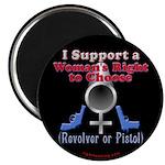 Woman's Choice pro-gun Magnet