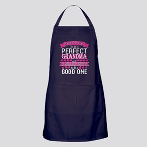 Thees No Way Tobe Perfect Grandma Mil Apron (dark)