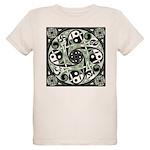 Celtic Spiral Stepping Stone Organic Kids T-Shirt