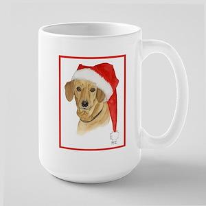 Dachshund Christmas Large Mug