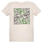 Celtic Puzzle Square Organic Kids T-Shirt