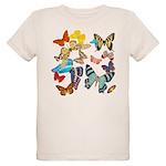 Beautiful Butterflies Organic Kids T-Shirt