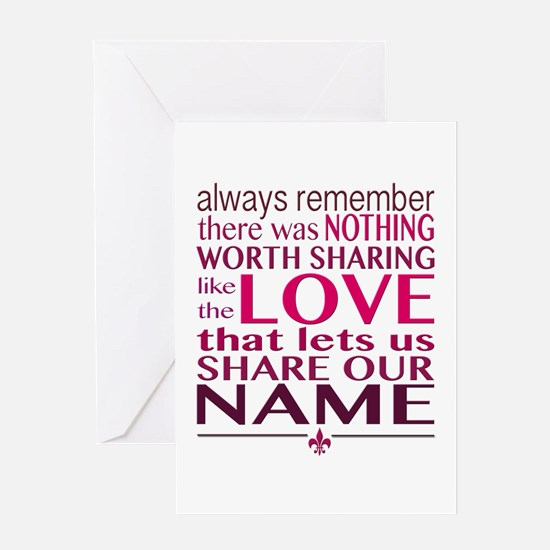 Avett Brothers Always Remember Quote Greeting Card