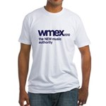 WMEX Boston 1972 -  Fitted T-Shirt