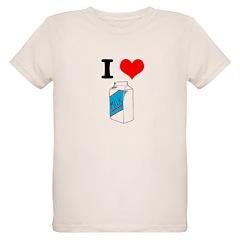 I Heart (love) Milk T-Shirt