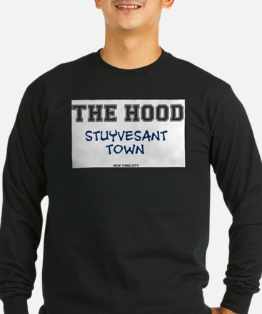 THE HOOD - STUYVESANT TOWN - N Long Sleeve T-Shirt