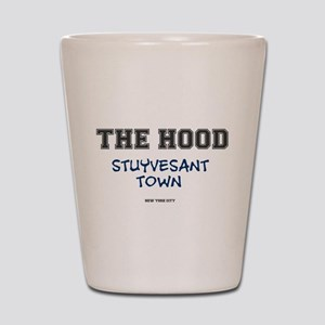THE HOOD - STUYVESANT TOWN - NEW YORK C Shot Glass