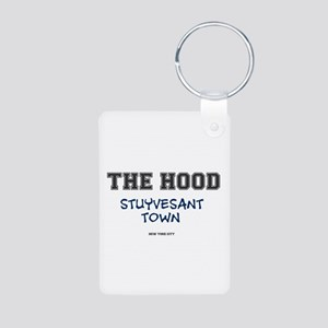 THE HOOD - STUYVESANT TOWN - NEW YORK CI Keychains