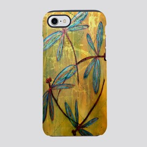 Dragonfly Golden Haze iPhone 7 Tough Case
