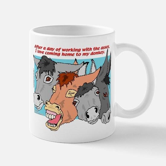 Donkey Work Mug