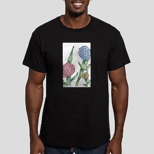 Carnations Men's Fitted T-Shirt (dark)