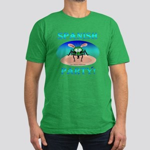 Spanish Fly Party Men's Fitted T-Shirt (dark)
