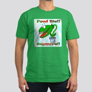 Feed Me!! Men's Fitted T-Shirt (dark)