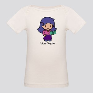 Future Teacher - girl Organic Baby T-Shirt