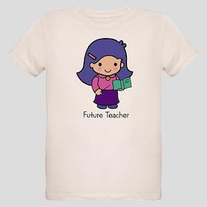Future Teacher - girl Organic Kids T-Shirt