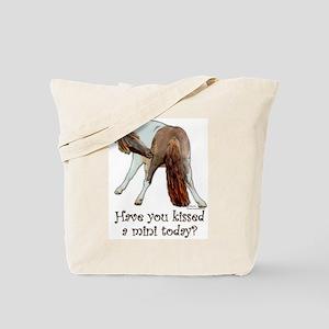 Mini Kiss Tote Bag