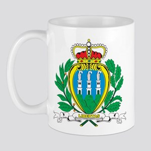 San Marino Coat Of Arms Mug