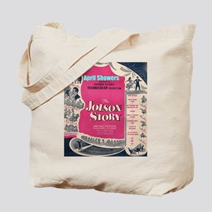 """The Jolson Story"" Tote Bag"