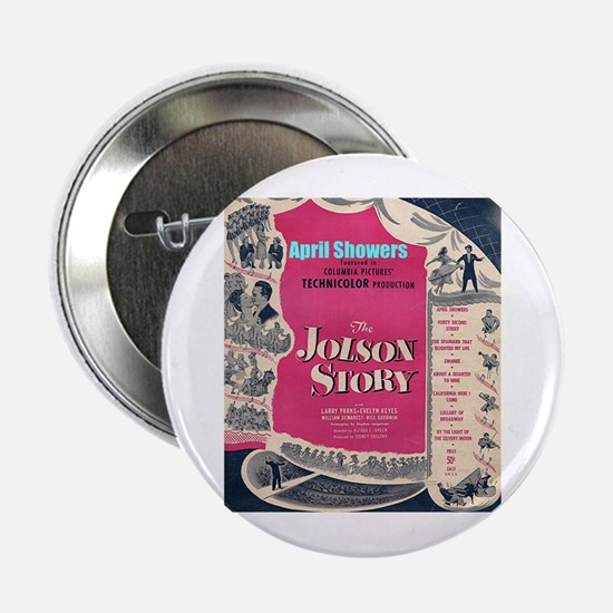 """The Jolson Story"" 2.25"" Button"
