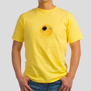 """""""PANASONIC PANAPETS"""" Yellow T-Shirt"""