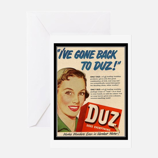 """Duz Ad"" Greeting Card"