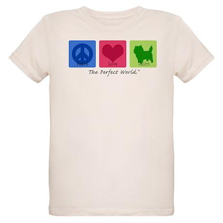 Peace Love Cairn Organic Kids T-Shirt