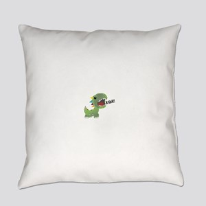Dino Rawr Everyday Pillow