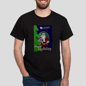 Merry Maltese Black T-Shirt