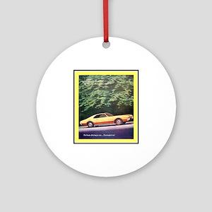 """1966 Toronado Ad"" Ornament (Round)"