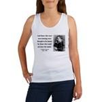 Nietzsche 38 Women's Tank Top