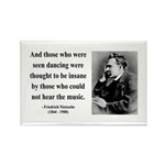 Nietzsche 38 Rectangle Magnet (100 pack)