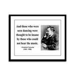 Nietzsche 38 Framed Panel Print