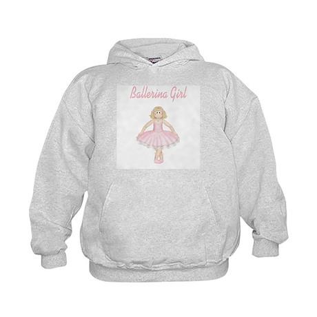 Ballerina Girl Kids Hoodie