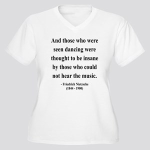 Nietzsche 38 Women's Plus Size V-Neck T-Shirt