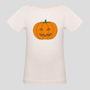 Jack O Lantern Organic Baby T-Shirt
