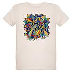 Leaves on Water Organic Kids T-Shirt