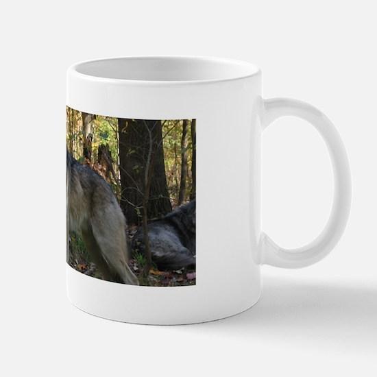 Wolf Posing Mug