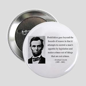 "Abraham Lincoln 35 2.25"" Button"