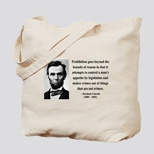Abraham Lincoln 35 Tote Bag