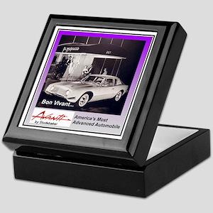 """""""1962 Avanti Ad"""" Keepsake Box"""