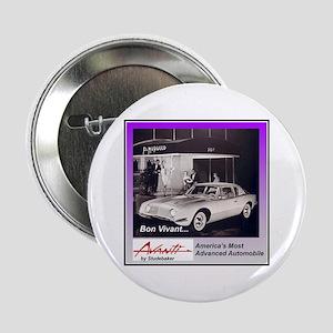 """""""1962 Avanti Ad"""" 2.25"""" Button"""