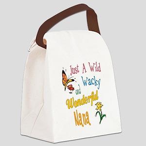 Wonderful Nana Canvas Lunch Bag