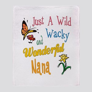 Wonderful Nana Throw Blanket