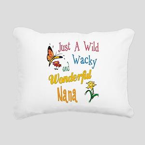 Wonderful Nana Rectangular Canvas Pillow